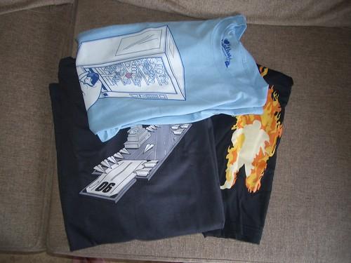 Las camisetas de Salva
