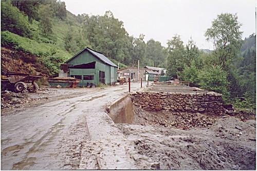 Gwynfynydd Gold Mine in Wales