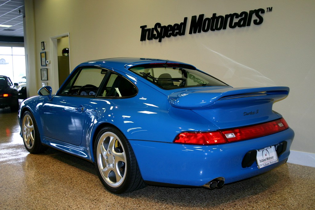 Seinfeld S Turquoise Blue 993 Turbo S 6speedonline Porsche Forum And Luxury Car Resource