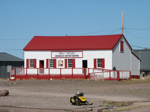 how to get to baker lake nunavut