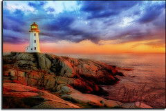 New and Improved ??? (MikeJonesPhoto) Tags: sunset lighthouse nature landscape scenic peggyscove coolest professionalphotographer orton gegenlicht supershot abigfave anawesomeshot mikejonesphoto aplusphoto holidaysvacanzeurlaub onlythebestare stonkingphoto