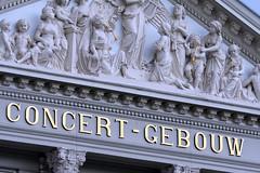 Concertgebouw bei Nacht