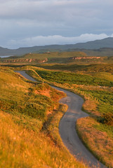 Claigan (tanera) Tags: road clouds contrast colours heather anywhere snaking hillfarm wwwtaneracouk httptaneracouk