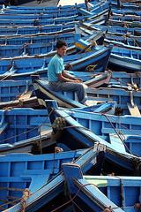 Blue Boats (curreyuk) Tags: blue boats fishing morocco essaouira breathtaking smorgasbord currey littlestories singintheblues supershot 5photosaday aplusphoto flickraward platinumheartaward grahamcurrey theperfectphotographer picswithsoul curreyuk peachofashot 5peaches momorocco gcuki