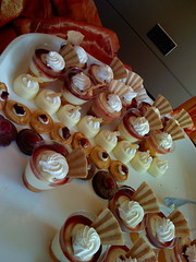 Desserts at Acquisition Party