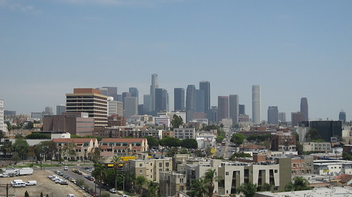 View from Bullock's Wilshire Building