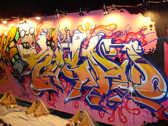 Kacao77 & Persue SeventhLetter Exchange LosAngeles Graffiti Art - by anarchosyn
