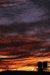 The setting sun (:: The 2th RoOm ::) Tags: sky orange cloud sun film colorful view taiwan photograph taipei settingsun 遊走