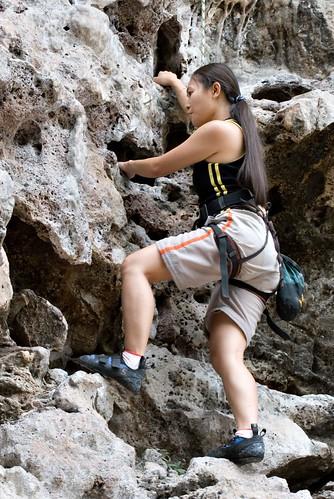 Joleen Climbing