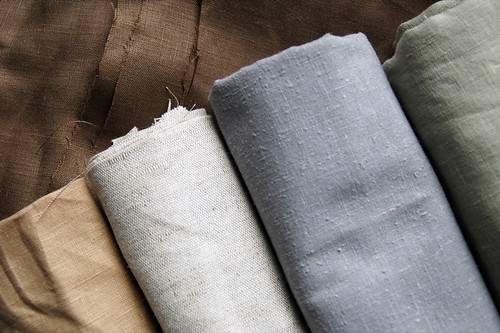 linen fabric goodies