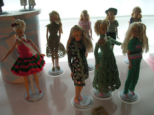 Crochet Barbies