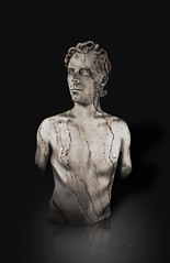 Statuesque (Josh Sommers) Tags: portrait man me statue rock stone photoshop self carved fake manipulation bust marble faked statuesque chiseled weekendamerica