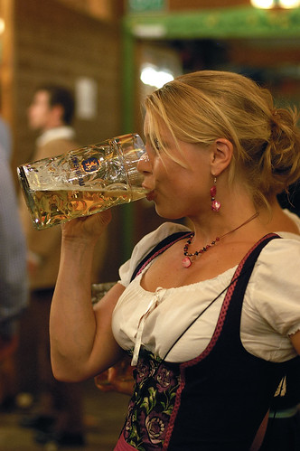 the big beer festival in Munich