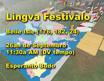 1-a Lingva Festivalo de Dua Vivo