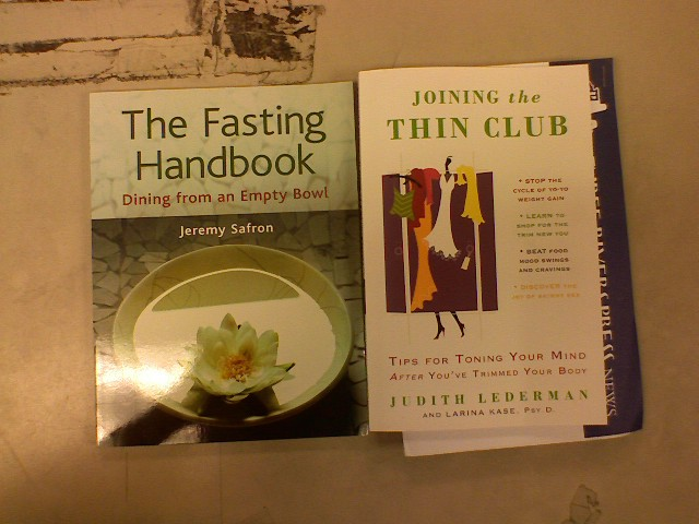 The Fasting Handbook & Joining The Thin Club