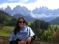 Me and the Dolomites (Food Philosophy) Tags: venice italy asiago altoadige speck chefmark foodphilosophy jenniferiannolo culinarypodcastnetwork gildedfork