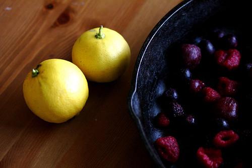 Warm Berries and Dumplings