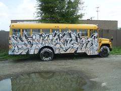 Stold (Billy Danze.) Tags: chicago bus graffiti those cmw edsk thozer thoser thoze