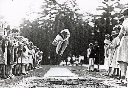 Hop, Step and Jump Field Day 1929, Elizabeth Woolsey, '30