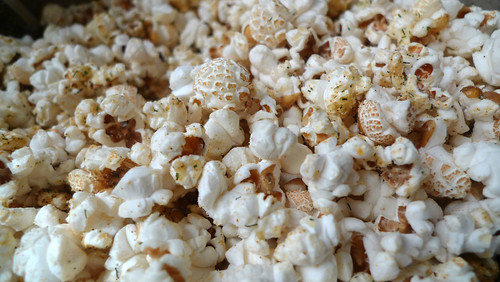 parmesan and spice popcorn