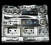 Playing the music too loud can damage your stereo! (Romany WG) Tags: park urban west abandoned beautiful hospital fire decay explorer player deck stereo amstrad tuner asylum cassette arson dereliction urbex hauntingly