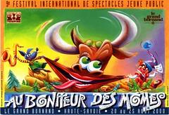 Affiche Festival Au Bonheur des Momes-2000