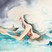 sereia e barco
