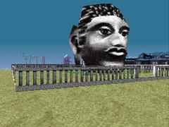 LSD: Dream Emulator 36 (tenhourclock) Tags: game strange statue giant weird screenshot scary head buddha dream creepy lsd dreaming ps1 videogame playstation luciddreaming osamusato lsddreamemulator dreamemulator satoosamu hirokonishikawa nishikawahiroko outsidedirectors asmikace
