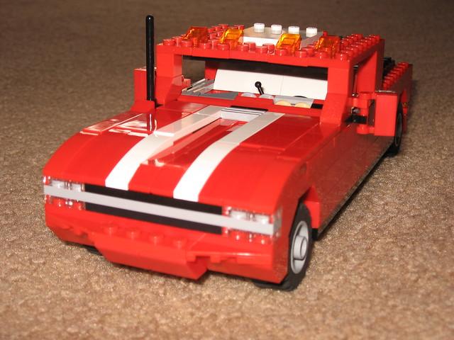 cars alex lego interior awesome hotrod rod 13 silverado excursion lugnuts bullbar sangi sangi13