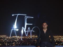 TE AMO [Explored #358] (Gerardography) Tags: light love canon painting 50mm you flash iloveyou te 18 amo external teamo strobist t1i