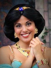 Princess Jasmine outshines her baubles (Ring of Fire Hot Sauce 1) Tags: portrait disneyland princessjasmine princessfantasyfaire