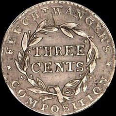 Feuchtwanger Three Cent reverse