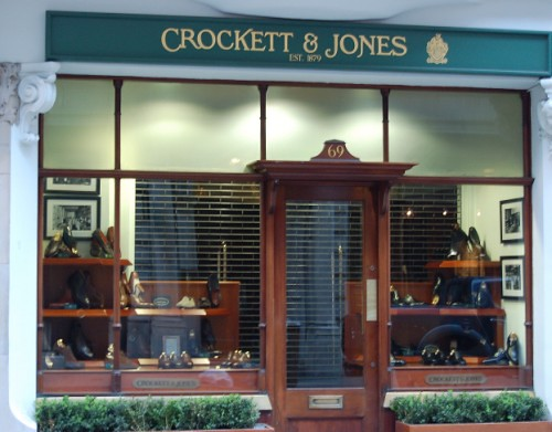Exterior de Crockett & Jones