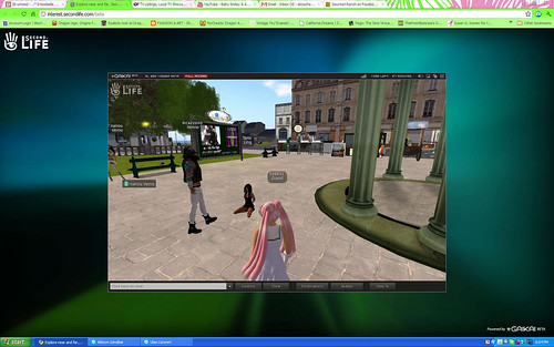 Browser Beta - Oh. Welcome to SL.