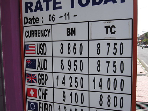 Awesome exchange rate