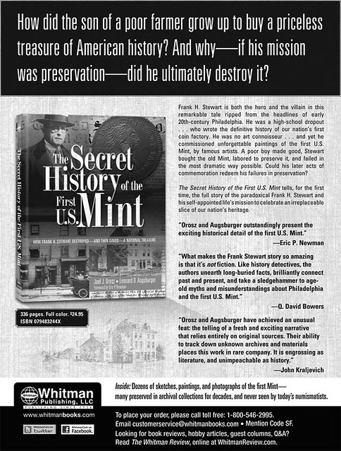 Secret History of First US Mint tearsheet