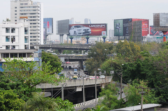 That's why Bangkok don't have so much traffic congestions