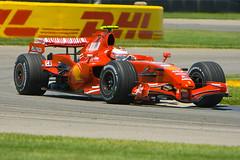 2007 USGP - Kimi Raikkonen