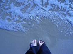Toes in the Surf