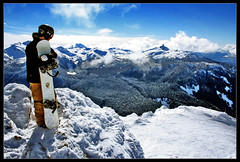 Whistler Blackcomb (fredtougas) Tags: snow canada mountains topf25 sport montagne landscape rockies whistler scenery bc britishcolumbia board snowboard neige paysage rocheuses blackcomb montagnes nikola drouin falardeau