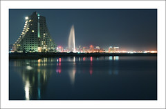 :: Bahrain Bay by Night ::