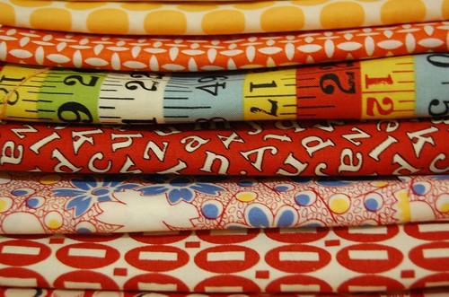 Fabric - reds