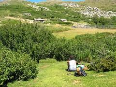 Déjeuner sur les pozzines de Chiralbella