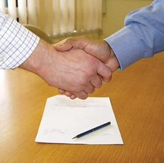 Contract Signing Contractor (sayruok123) Tags: marketing advice sales contractor