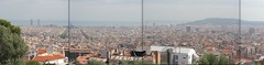 bcn skyline.jpg (ander80) Tags: barcelona stiched stiches panoramicview ocupa