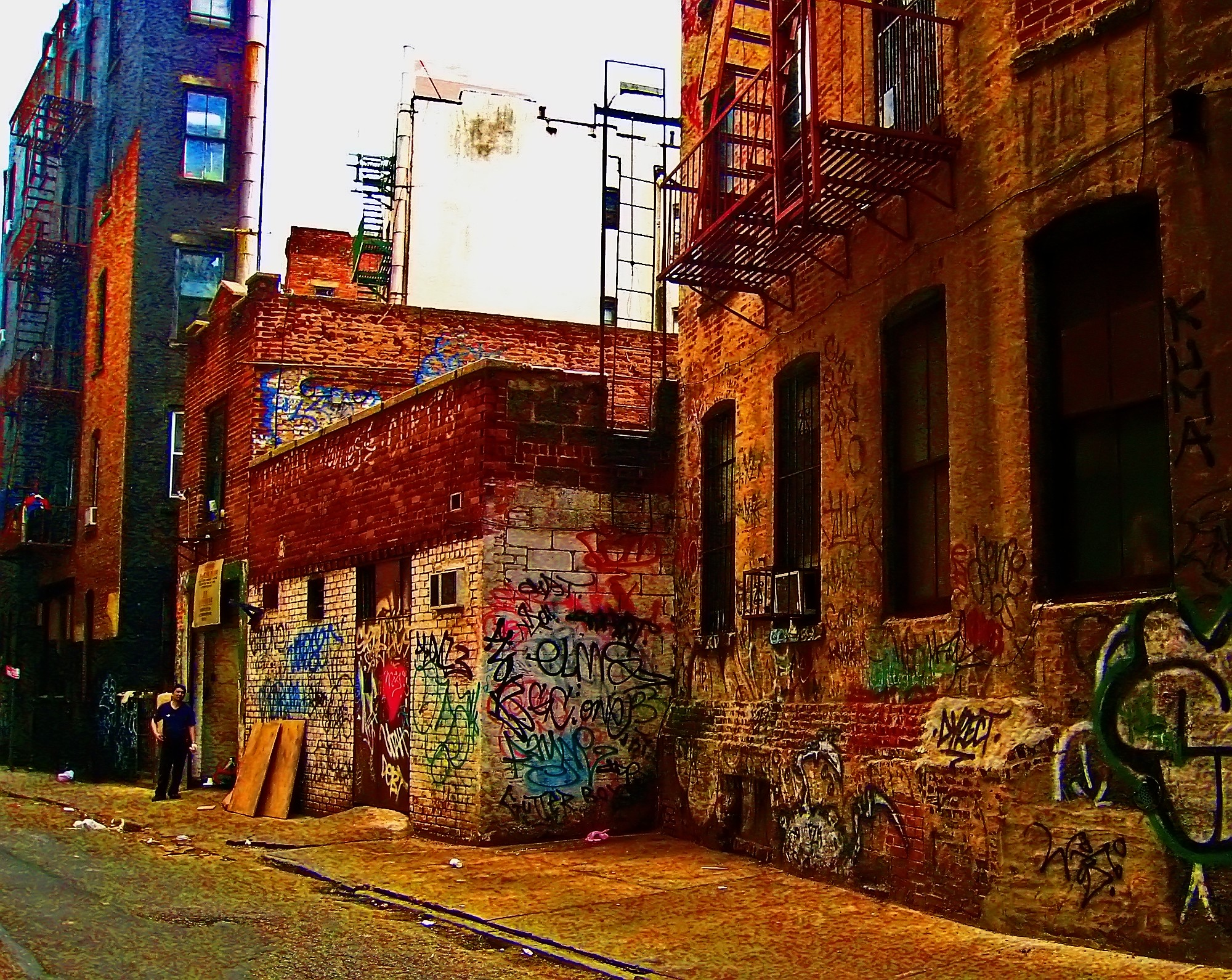 Mechanics Alley in living color