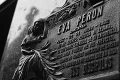 eva peron's marker (one of many)