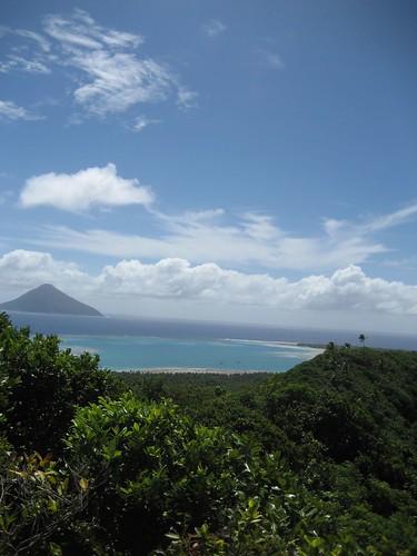 the volcano from the ridge Niuatoputapu