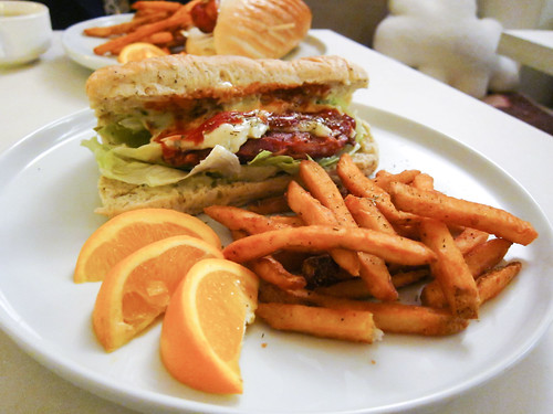 Sandwich & Fries