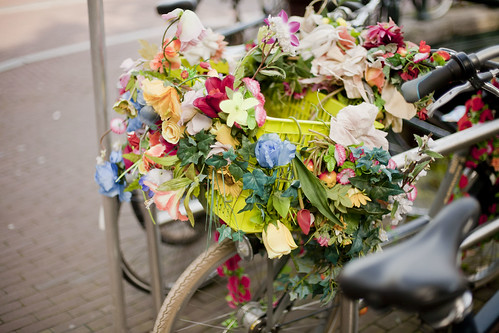 Amsterdam Magazine flower bike
